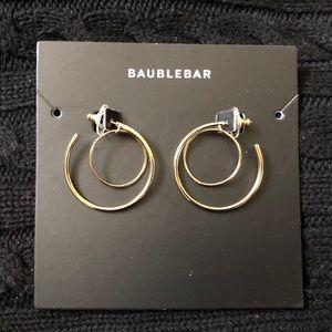 Baublebar Samantha Hoop Earrings (Gold)